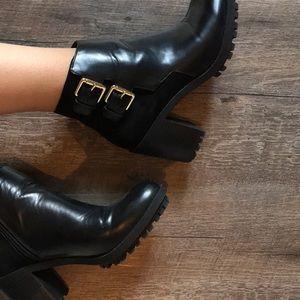Zara Shoes - ZARA - NEW Black Booties